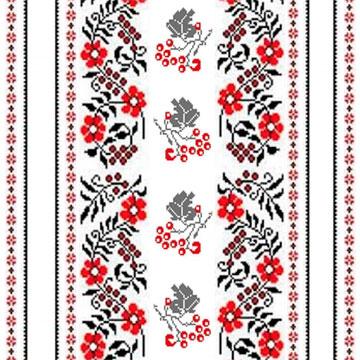 Рушники для венчания схемы вышивки