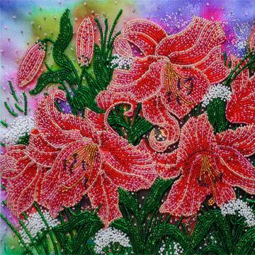 Оригінальне виконання простих схем вишивки квітів a309b307a82da